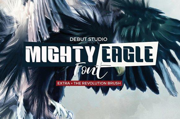 Mighty Eagle Revolution Brush