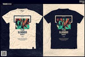 Summer T-Shirt Graphic