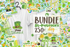 St-Patrick's Day MEGA BUNDLE  80%off