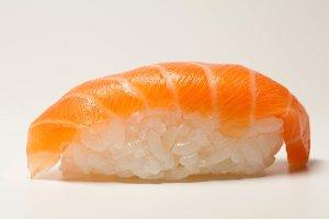 Rice, Salmon - classic sushi
