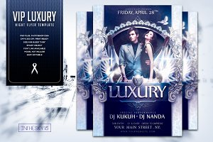 VIP Luxury Night Flyer Template