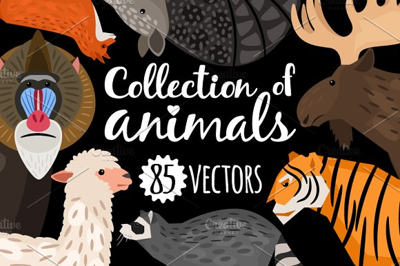 Big Set Of Animals