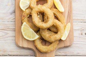 Calamaris fried
