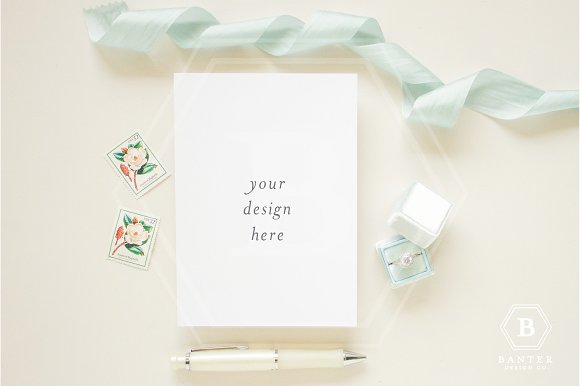 Download Styled Flat Lay for A7 Stationery