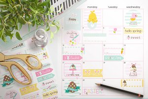 Easter Printable Stickers