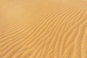 Golden sand dunes background