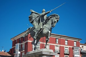 El Cid in Burgos, Spain.