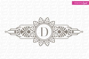 Art Deco Wedding  Logo