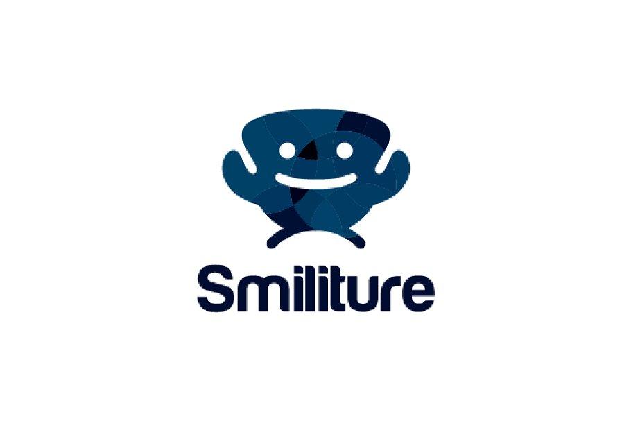 Smile Sofa Logo Logo Templates Creative Market