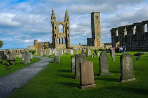 Cemetary St. Andrews Scotland