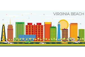 Virginia Beach Skyline