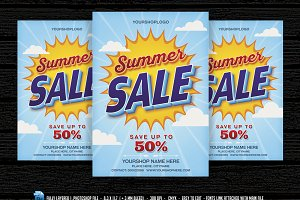 Summer Sale Flyer /Poster