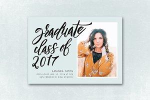 Senior Graduation Announcement 030
