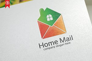 Home Mail / Apps - Logo Template