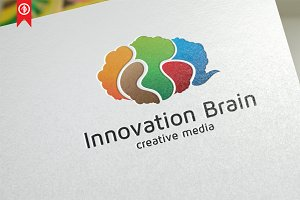 Creative / Innovation Brain - Logo