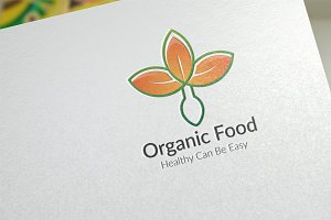 Organic Food / Logo Template