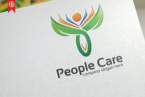 People Care / Charity- Logo Template