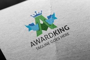 Award King (Letter A) Logo