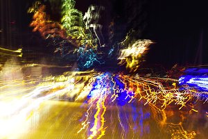 Abstract background.Night city light
