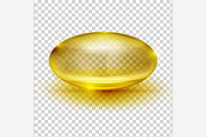 Transparent Capsule Image