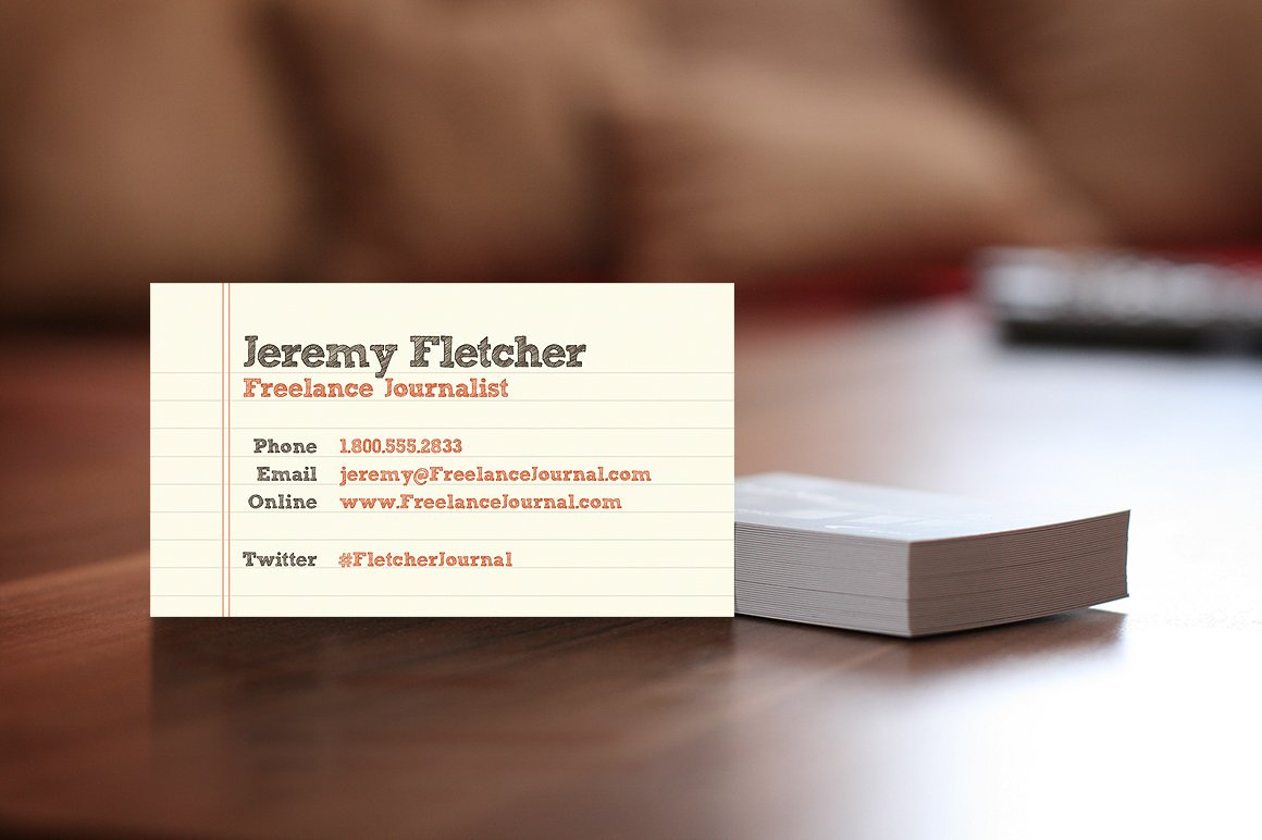 Paper Business Card ~ Business Card Templates ~ Creative Market