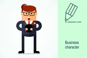 Business character. Riscs