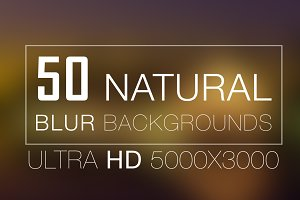 50 Natural Blur Backgrounds