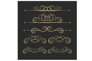 Set vector design elements 16