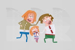 Happy family father´s day