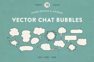 Vector Chat Bubbles • New Update