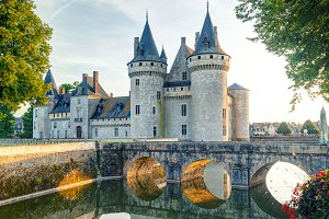The chateau of Sully-sur-Loire