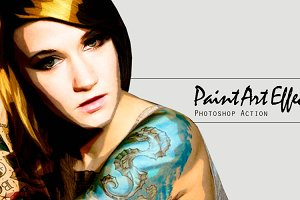Paint Art Effect
