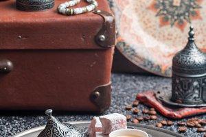Turkish tea and delight