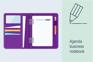 Agenda business notebook