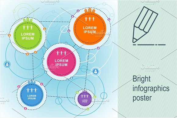Bright Infographics Poster