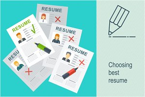 Choosing best resume