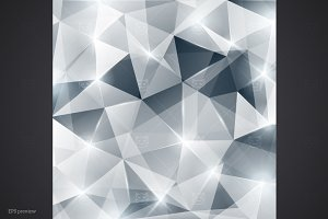 Silver Backgrounds Collection