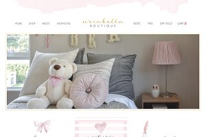 Wix Ecommerce Website Template