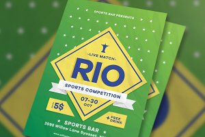 Sports Competition Flyer