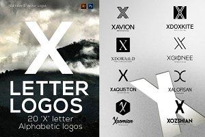 "20 ""X"" Letter Alphabetic Logos"