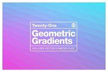 Geometric Gradient Backgrounds