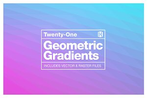 Geometric Gradient Backgrounds