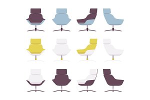 Set of rerto armchairs