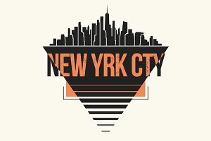 New York tee design