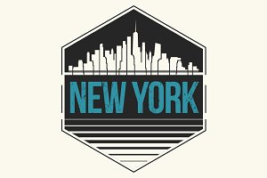 New York city tee design