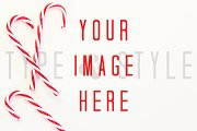 Styled Stock Photo - Candy Cane