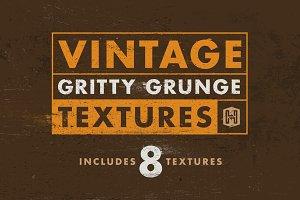 Vintage Gritty Grunge Textures