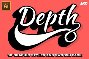Depth - 3D Extrude and Swoosh Kit