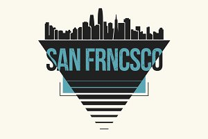 San Francisco tee design