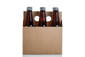 Bottle beer in generic carrier